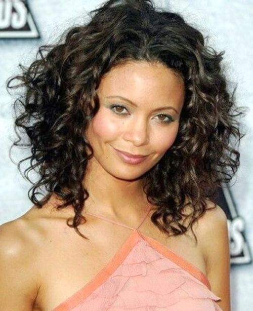 Curly Hairstyles 2015 Mid Length Curly Hairstyles 2015  2016  Curly Hairstyles Mid