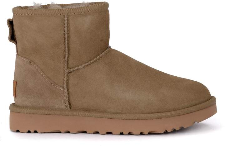 52b28541303 UGG Classic Ii Mini Antelope Suede Sheepskin Ankle Boots. | Products ...