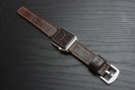 Apple Watch BandiWatch BandLeather Apple Watch Band by lotussilk