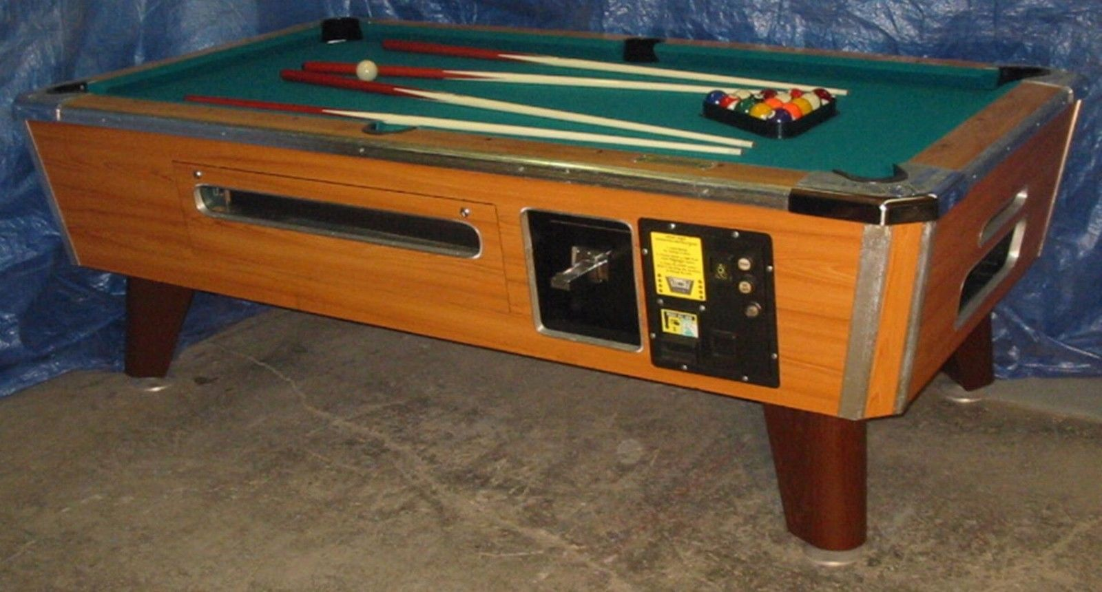 Two valley cougar zd 7 coin op 7 bar size pool table refurb wbill two valley cougar zd 7 coin op 7 bar size pool table refurb wbill accept watchthetrailerfo