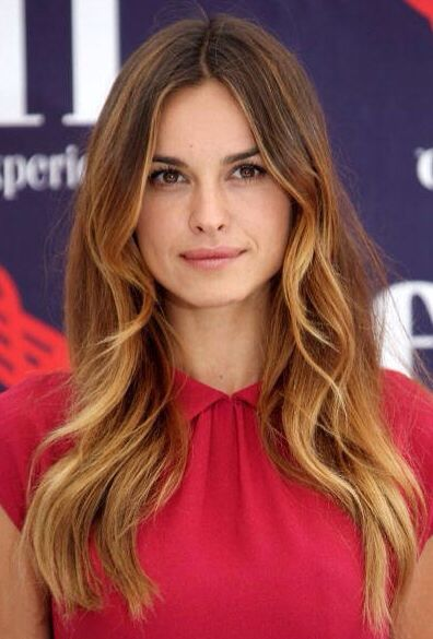 Balayage Front View Hairstyle For Long HairHairstyle