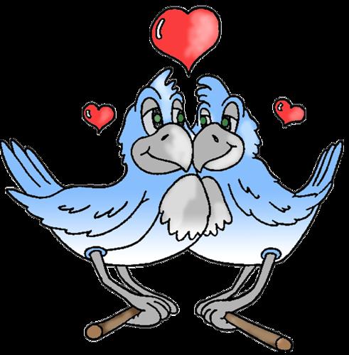 Птицы, птички на веточках, голуби - клипарт в формате PNG ...