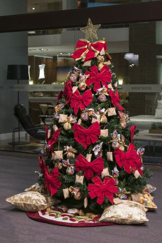 Home Decor Decorated Christmas Trees Architects Houses Things