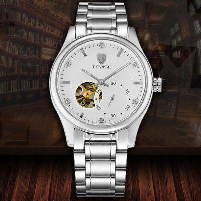 Llévalo por solo $234,900.Tevise 5349 hombres Tourbillon reloj mecánico automático del dial redondo del cuerpo de acero inoxidable.