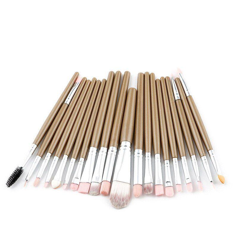 FLD 20 Teile Make-Up Pinsel Set Lidschatten Foundation Pulver Eyeliner Wimpern Lippen-Make Up Pinsel Kosmetische Schönheit Werkzeug Kit – style4