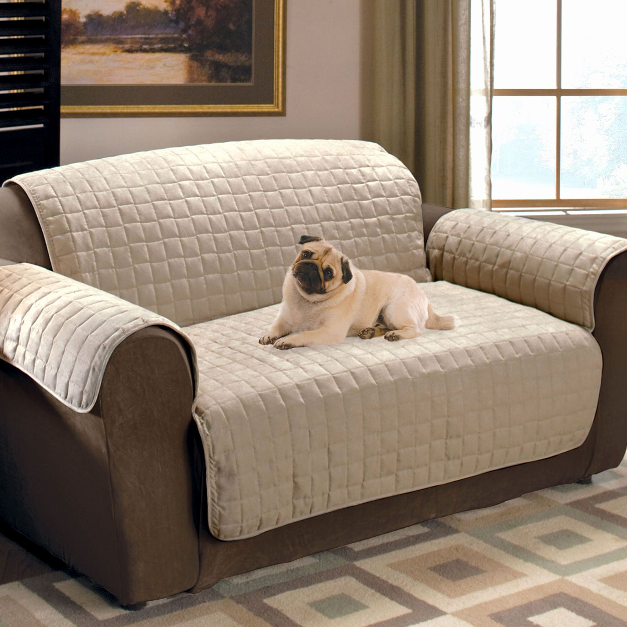 Beautiful Dog Sofa Cover Image New Faux Suede Pet Furniture Covers For Sofas Loveseats And Chairs