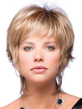 blonde impressive boycuts straight short wigs very short