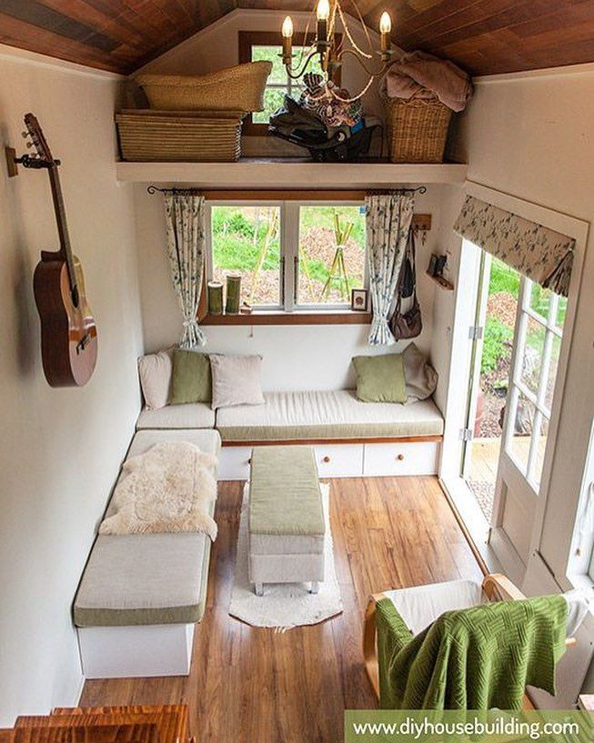 charming space mini casas tiny houses pinterest tapanco casitas diminutas y caravana. Black Bedroom Furniture Sets. Home Design Ideas