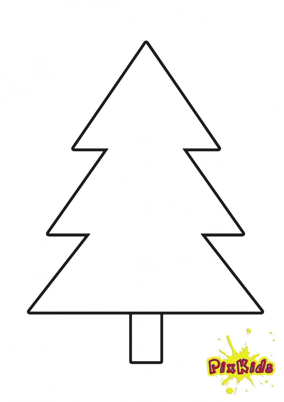 Bildergebnis für schablone tannenbaum ausdrucken  Malvorlage