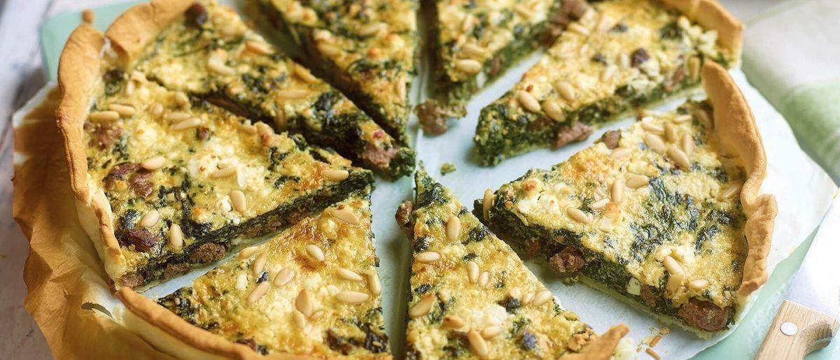 Lamb And Spinach Quiche Lamb Mince Recipes Lamb Recipes Easy Lamb Recipes