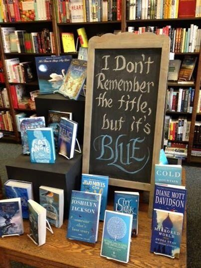 Blue Willow Bookshop in Houston TX.  Doesn't get much better than here.
