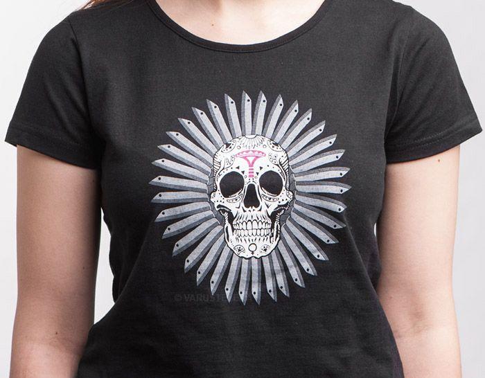 Pure Waste naisten T-paita, Skramakukka