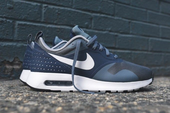 Outlet Online Nike Air Max Tavas Essential - Armory Slate / White / Midnight Navy / Gray Wolf Shop N