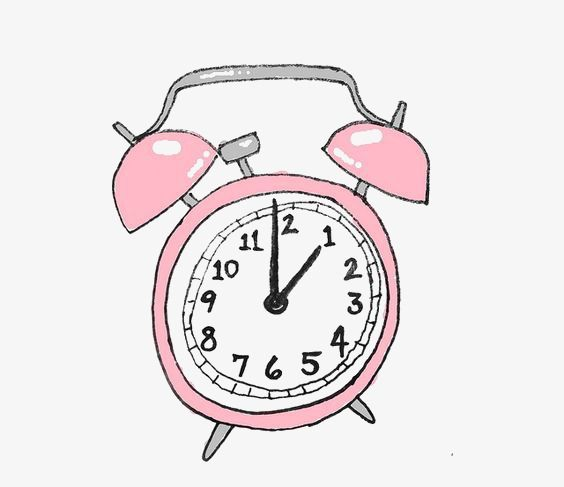 Clock Clipart Hand Painted Clock Cartoon Alarm Clock Pink Alarm Clock Watch Clock Hand Painted Cartoon Alarm Pink Alarm C Cute App Clock Icon Iphone App Design