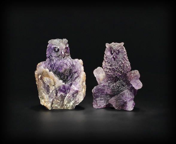 Amethyst Carvings