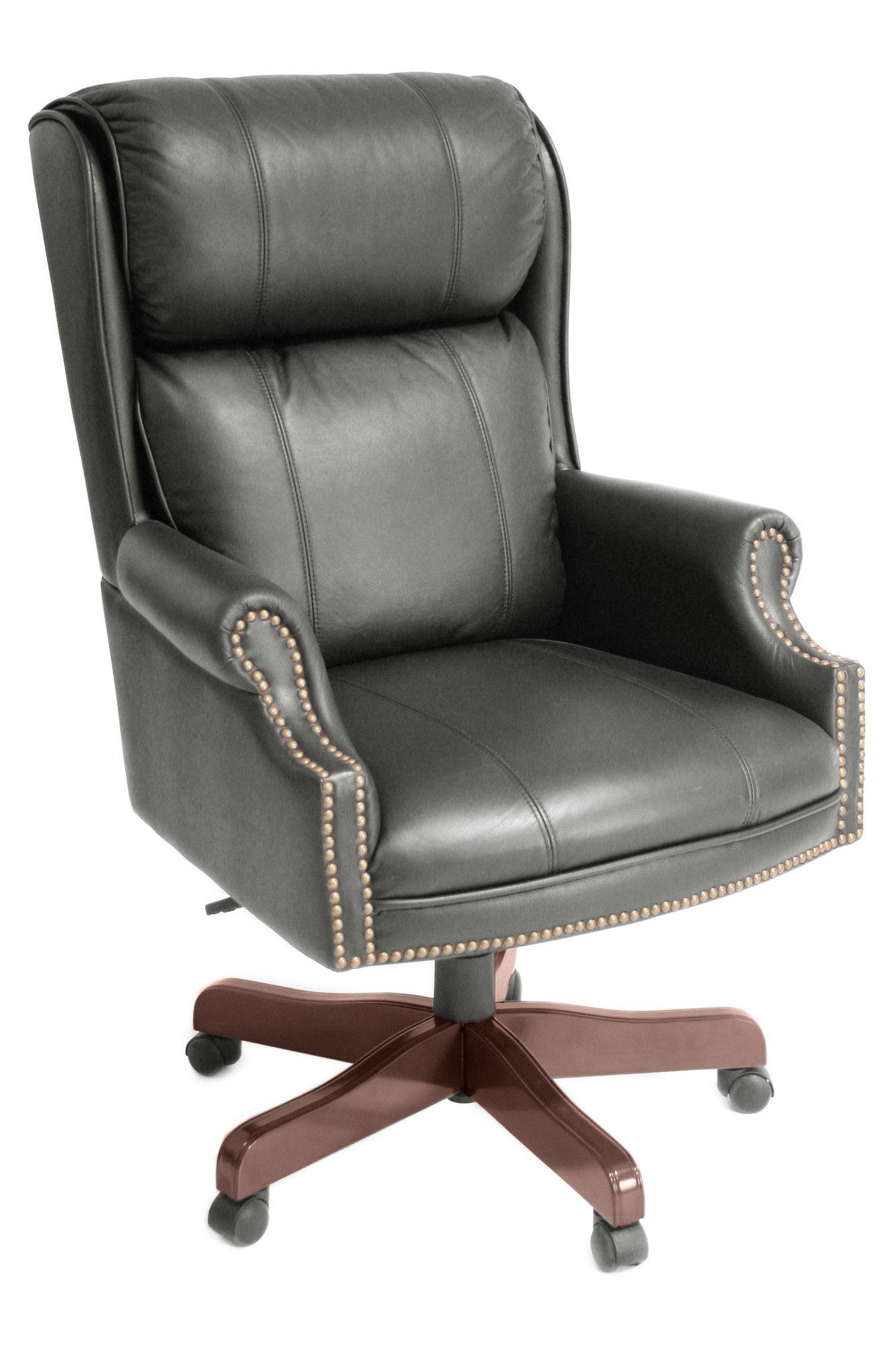 Ivy League High Back Leather Executive Chair