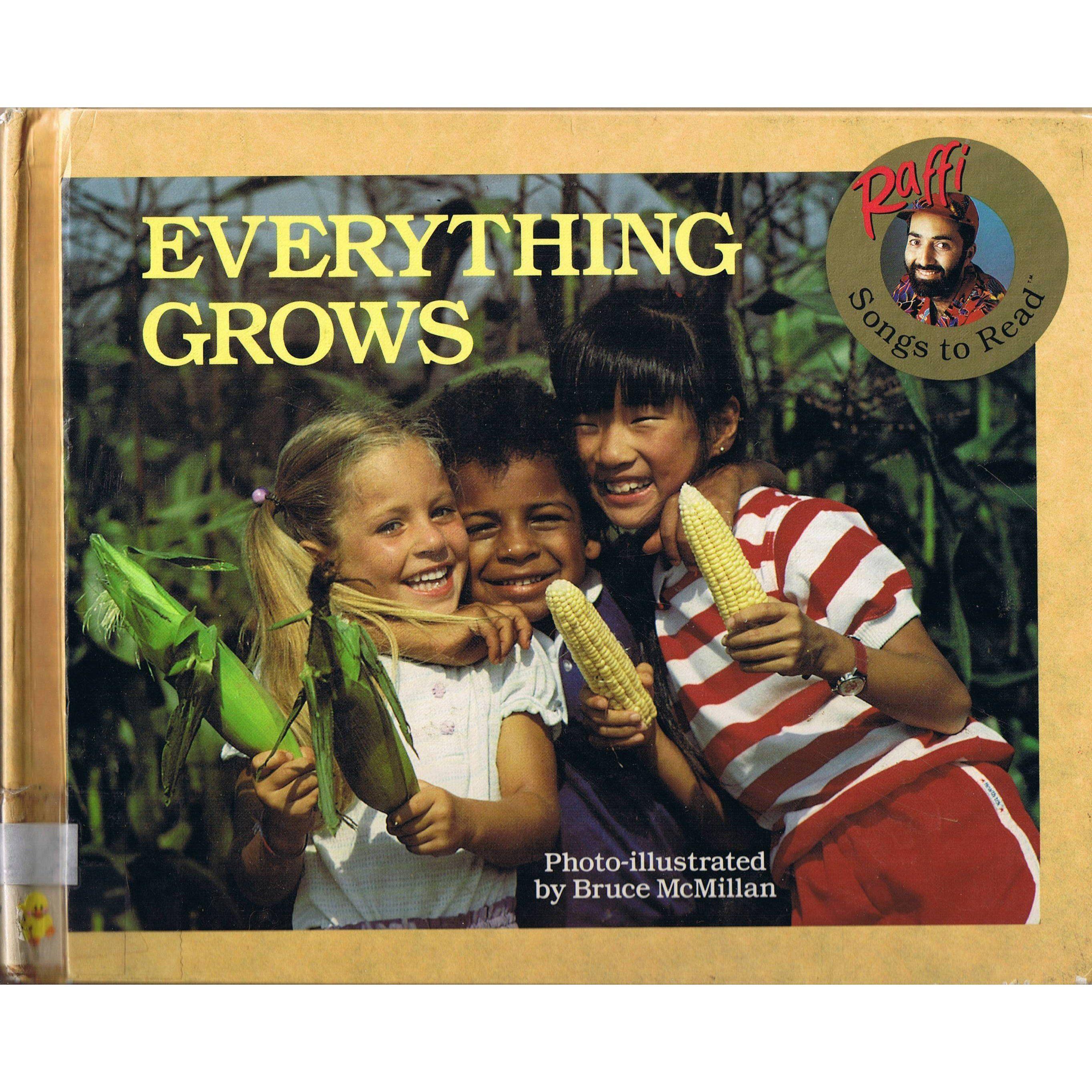 Raffi And Bruce Mcmillan  Raffi Songs To Read Everything