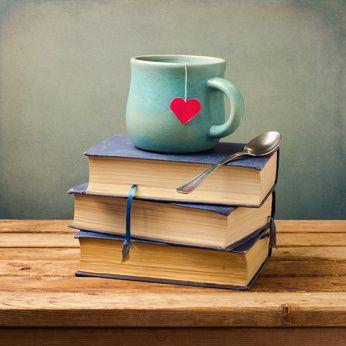 Resultado de imagen de books tea