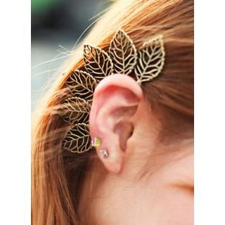 Buy 'kitsch island – Leaf Ear Cuff ' with Free International Shipping at YesStyle.com. Browse and shop for thousands of Asian fashion items from South Korea and more!
