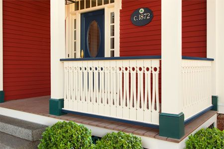 There are few things as inviting as a front porch detailed with fancy millwork. Use a pattern and a homemade jig to construct this ornate balustrade