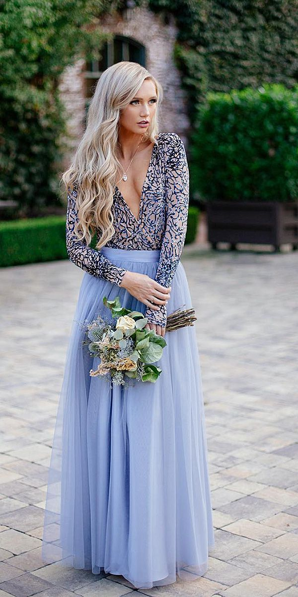 Winter Wedding Guest Dresses 15 Best Looks Pinterest Guests And Long Tulle Skirts