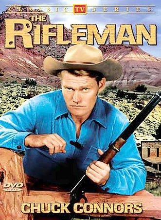 This popular Western-oriented television show first aired in 1958, and starred the beefy Chuck Connors as Lucas McCain. The dexterous cowboy took on the criminal detritus of the Old West with his trus