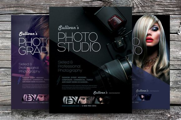 Professional Photography Flyer  Photography Flyer Flyer Template