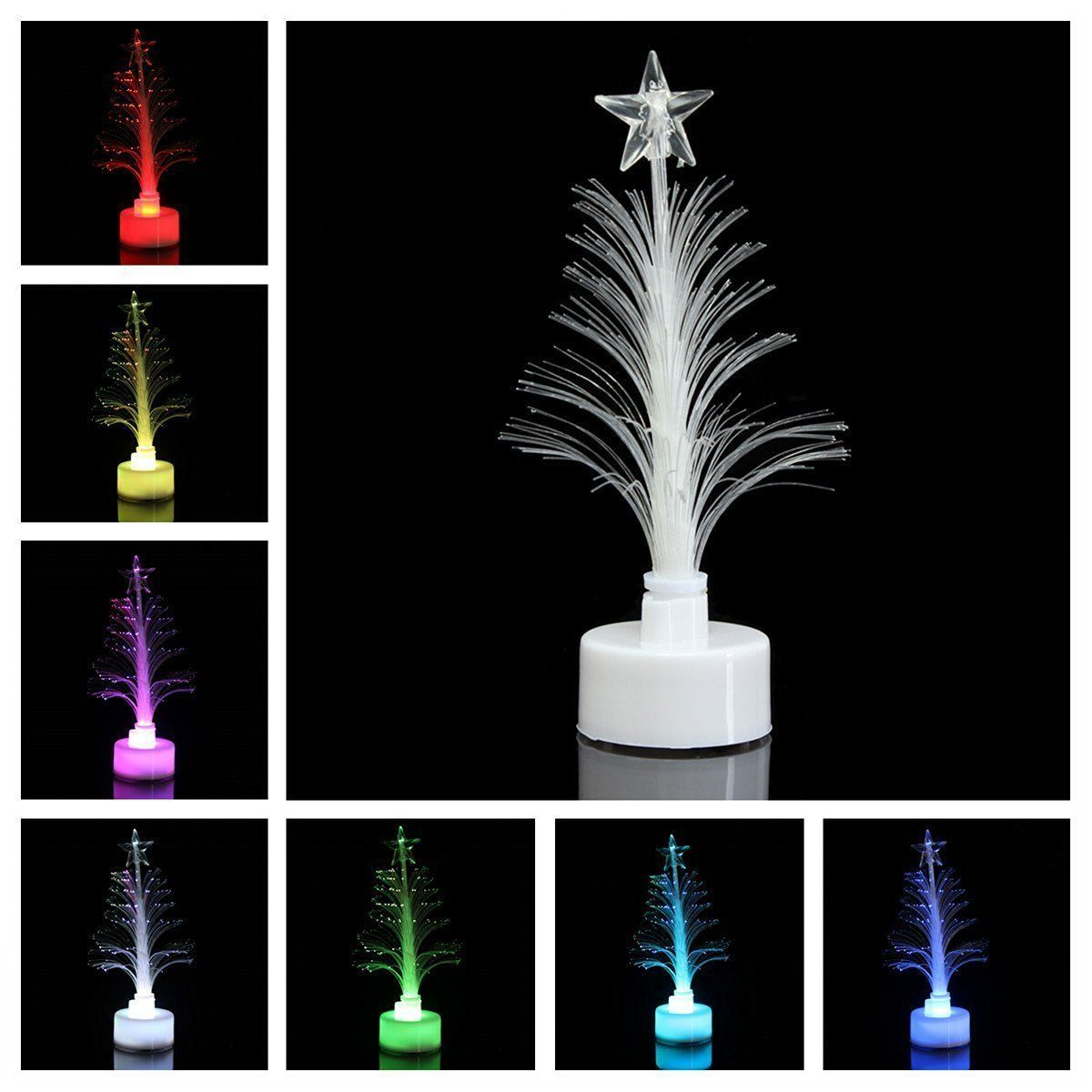 Nuolux Mini Led Christmas Tree Crystal Christmas Tree Party Decoration See This Great Image Garden Christmas Decorations Pictures Christmas Tree Topp