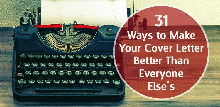 The 31 All Time Best Cover Letter Tips
