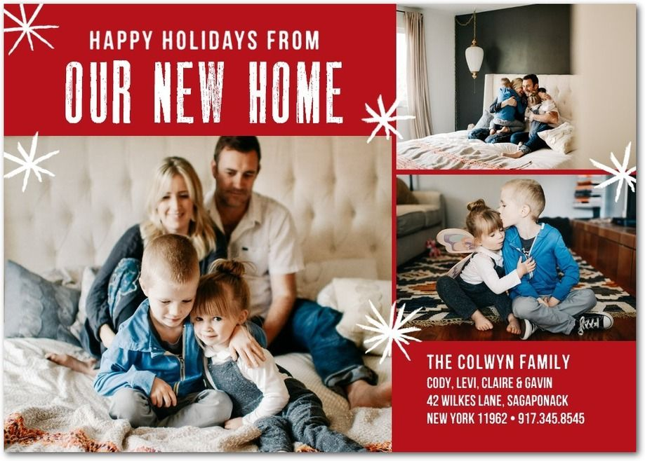 new home holiday photo cards - Selom.digitalsite.co