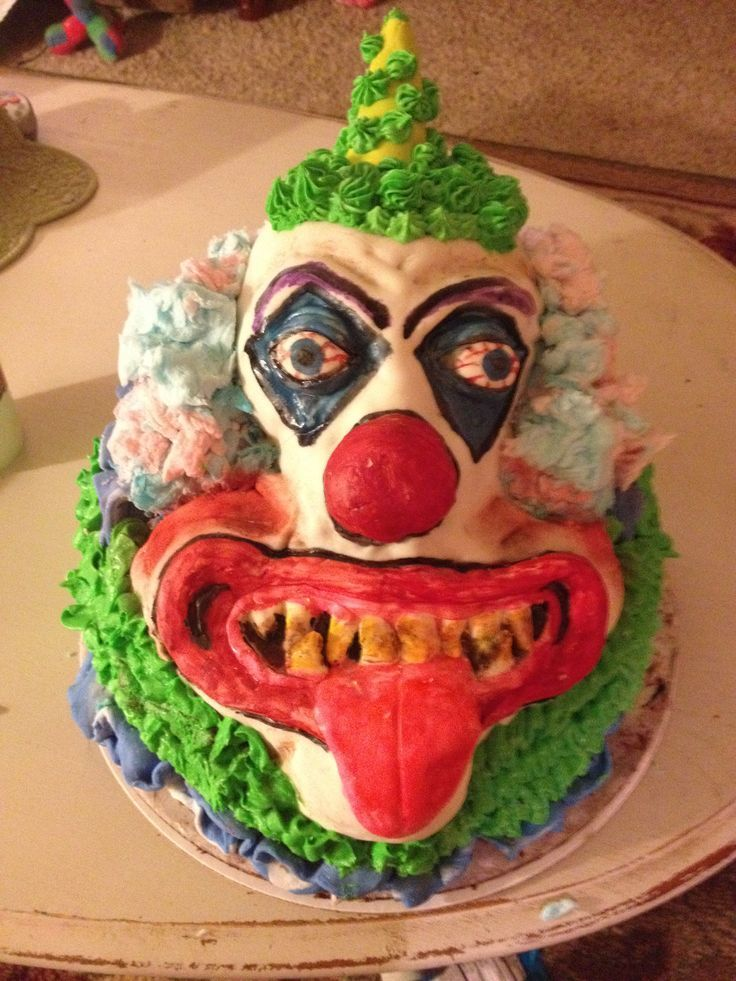 Image result for birthday clown Clowns Creep Me Out Pinterest