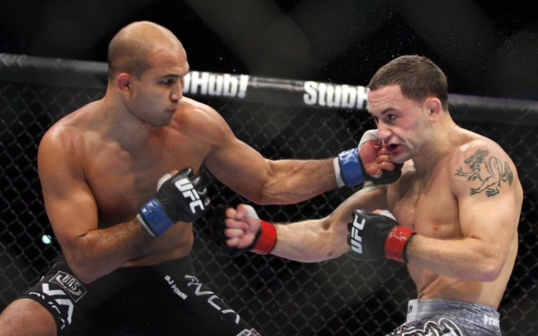 Ex-champions B.J. Penn. Frankie Edgar tabbed as coaches for Season 19 of 'The Ultimate Fighter'   Mma knockouts. Mma. Sport motivation