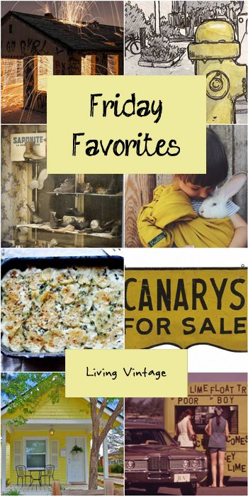 8 yellow picks highlighted this week on my Friday Favorites!