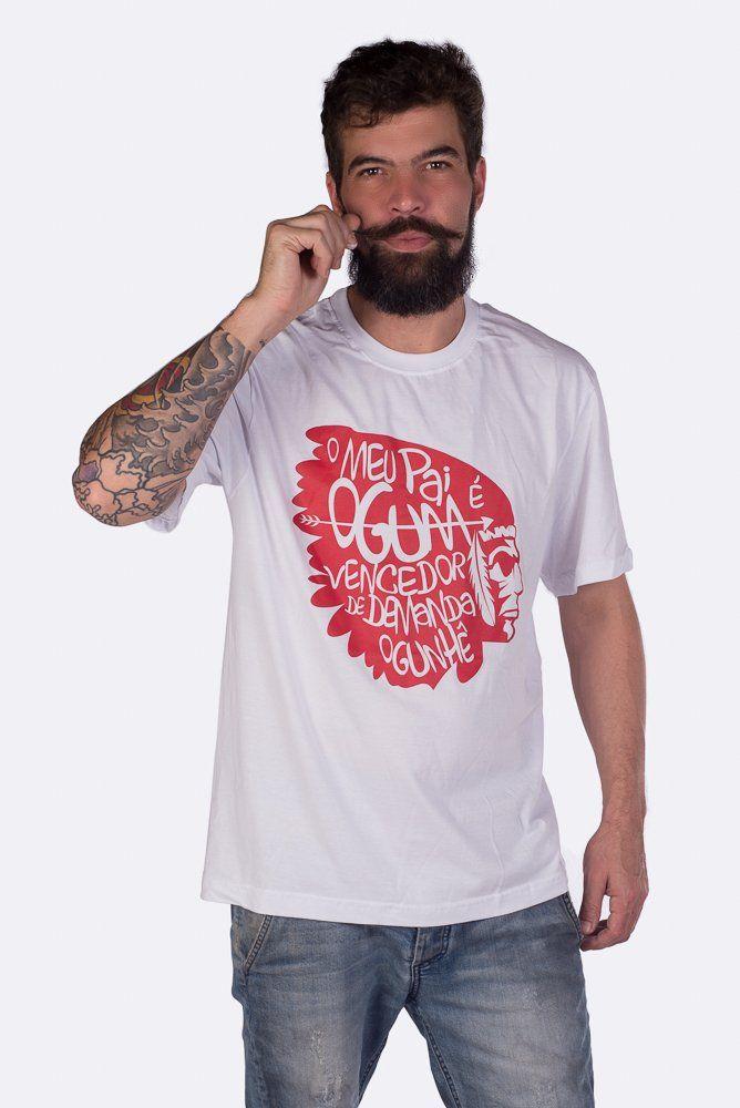 7fcb19de21 Camiseta CABOCLO DE OGUM Veja esse e mais modelos em nosso site   www.nzambi.com.br  ogum  caboclo  umbanda  saravá  axé  ogunhê