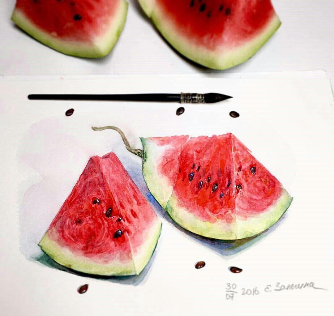 Watermelon paiting