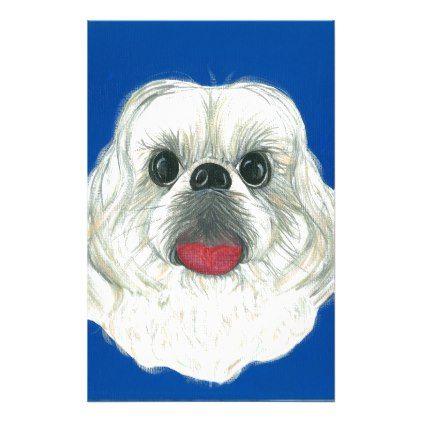 My Darling Shih Tzu Stationery Shih Tzu Puppy Dog Dogs Pet