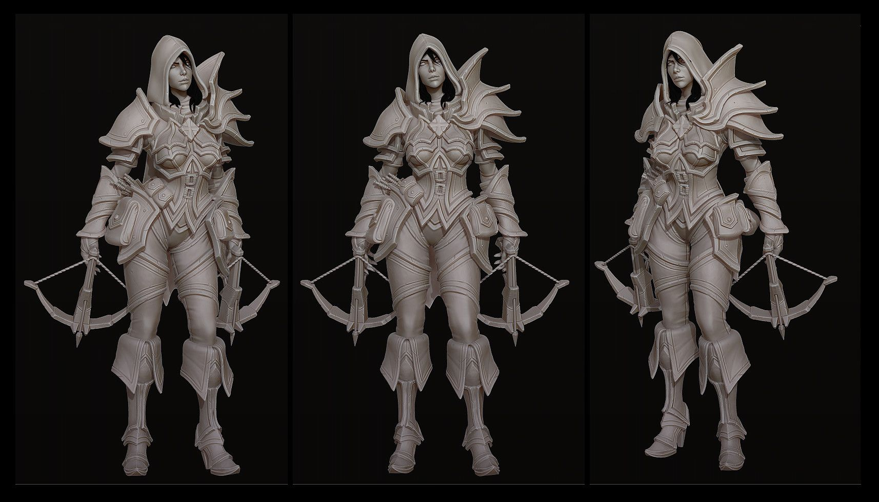 Https Www Artstation Com Artwork 1qvrk Demon Hunter Character Design Artwork Within these pages, you will find everything required to understand how best to play this hero, in both different map styles and. demon hunter