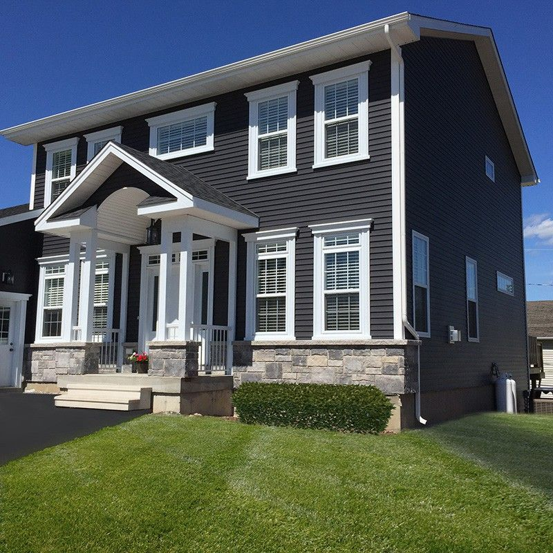 Kaycan Vinyl Siding Manor Siding With White Trims And