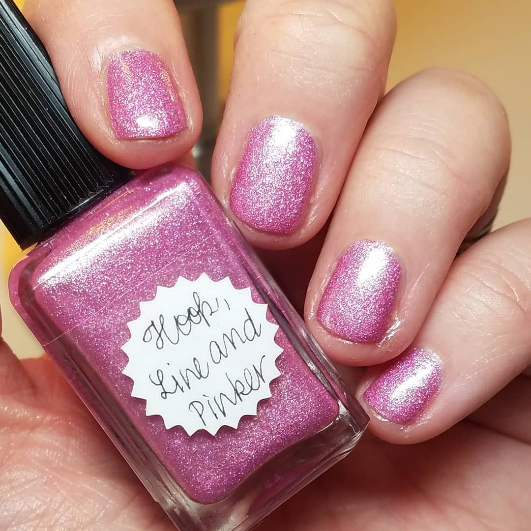 Hook, Line, and Pinker Manicure, Indie polish, Nail polish