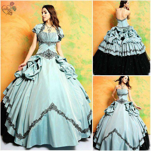 Stunning! | Wedding Dresses | Pinterest | Black, Gowns and Belle