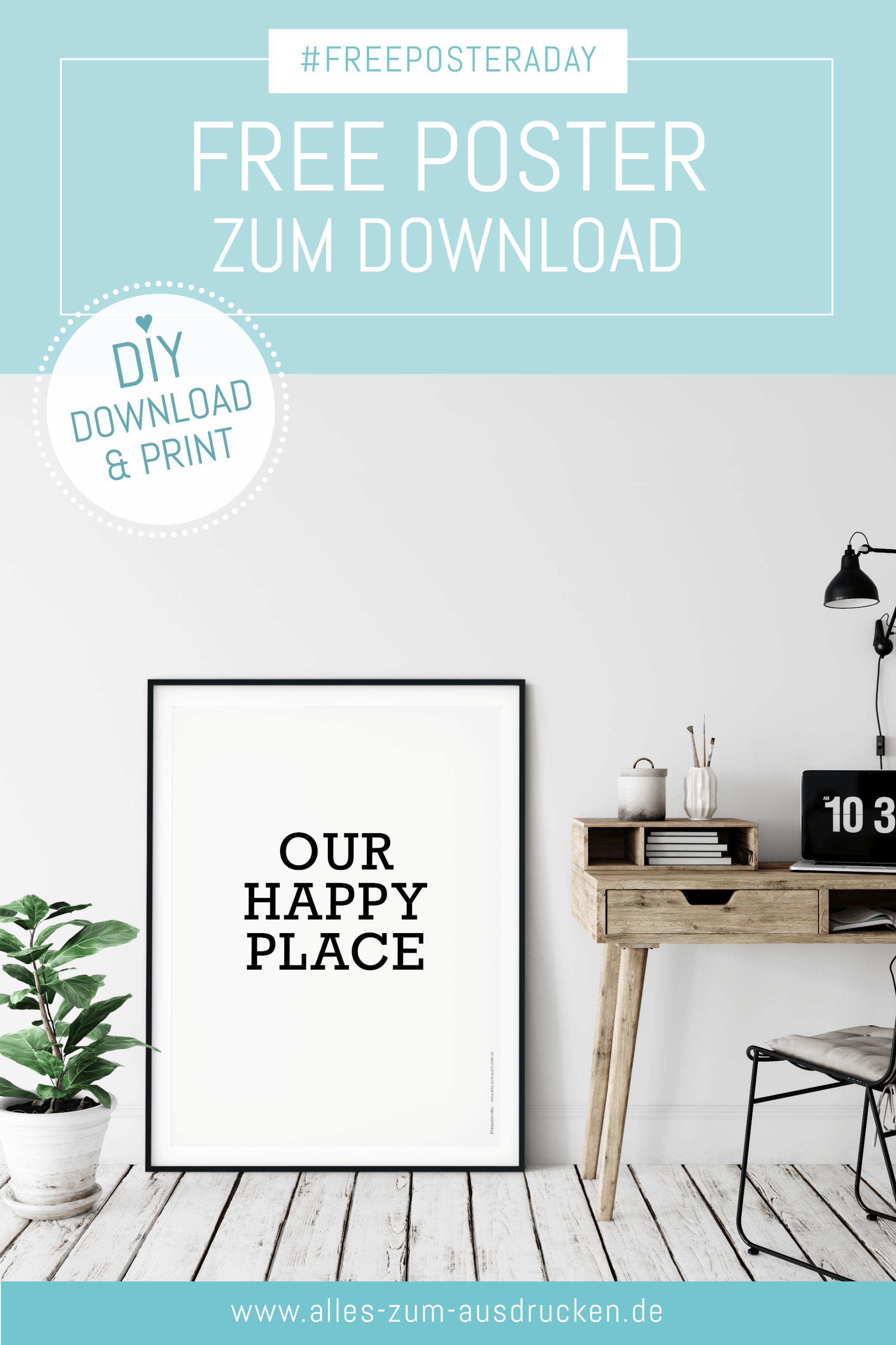 Free Poster Zum Download In 2020 Ausdrucken Kalender Zum Ausdrucken Poster Kinderzimmer