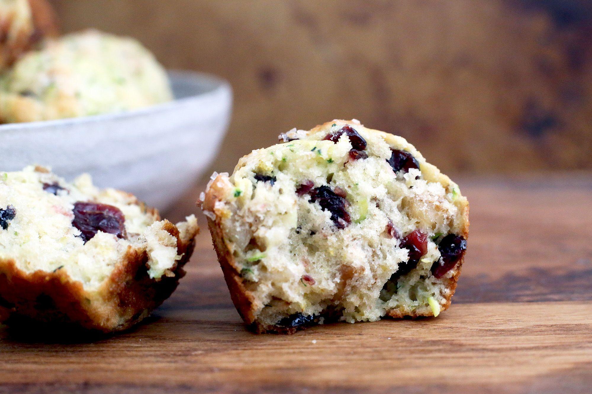 Glutenfree blueberry muffins made with baking mix