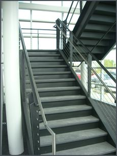 Miscellaneous Steel | Steel Handrails | Industrial Platforms | Handrails |  Hand Rails | Cable Rails | Guardrails | Guard Rails | Stairs | Industrial  ...