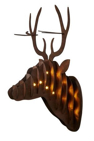 Buy Lit Stag Head From The Next Uk Online Shop 25 Scottish Decor Stag Design Decorative Accessories