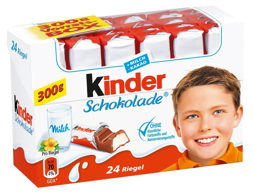 Kinder Chocolate And Me The Perfect Chocolate For Kids And