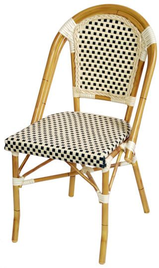 French Bistro Chairs From Affordable Seating Aluminum Bamboo Patio Chair 68 Per Best Price So Far