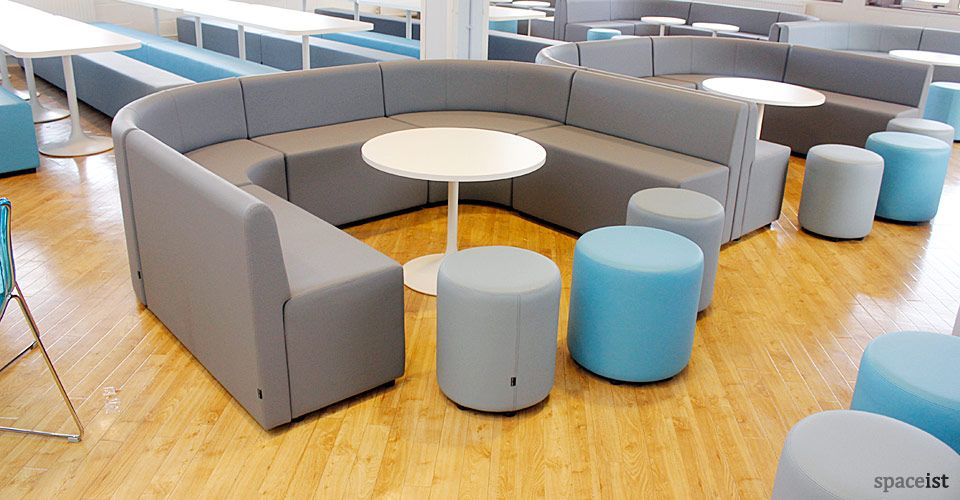 U Shaped Grey Vinyl Sixth Form Seating In 2019 Common Room Furniture