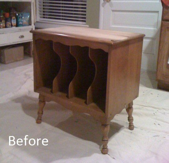 Before & After: Thrift Store Find Color Makeover