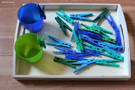 maria montessori montessori lernmaterial sortier bung sortier bung nach farbe 18 20 monate. Black Bedroom Furniture Sets. Home Design Ideas