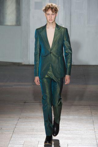 Maison Martin Margiela Spring 2015 Menswear Collection Slideshow On Style Com Fashion Fashion Show Maison Martin Margiela